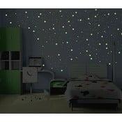 Zestaw 240 świecących naklejek w ciemności Ambiance Milky Way, 240 szt.