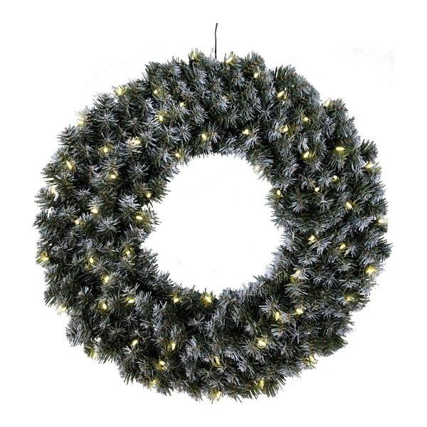 Świecący wieniec Fir, 70 cm