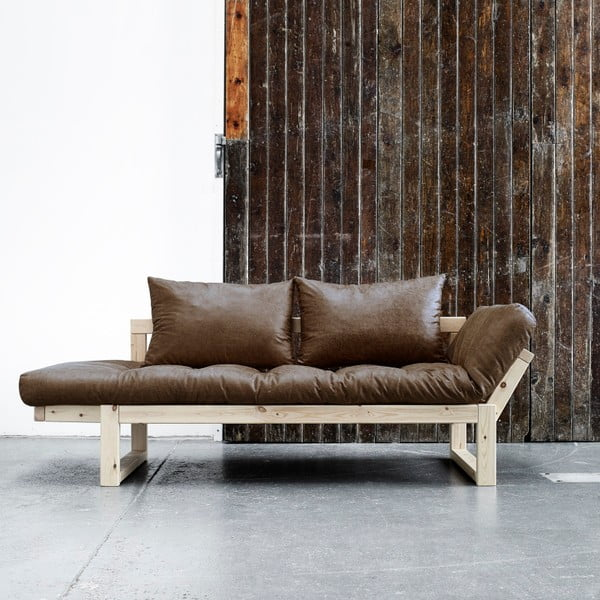 Sofa Karup Vintage Edge Natural/Mocca