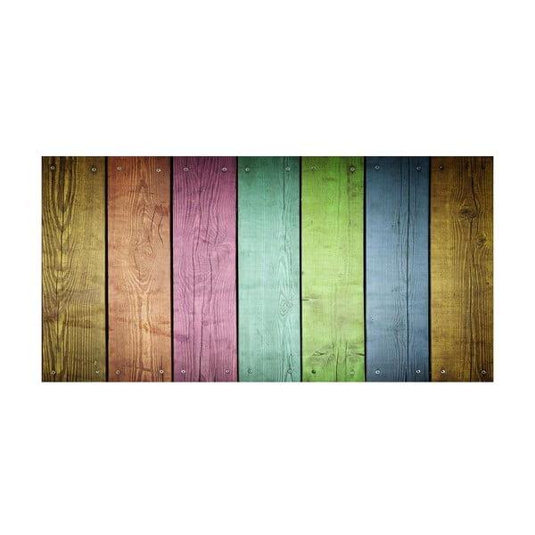 Winylowy dywan Cocina Tablas Colores, 50x100 cm