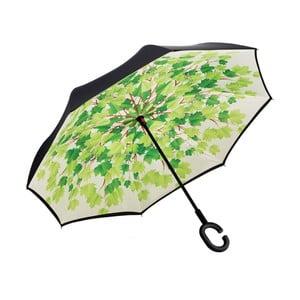 Zielony parasol Green Leaves