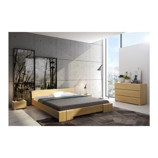 Łóżko 2-osobowe z drewna sosnowego SKANDICA Vestre, 160x200 cm