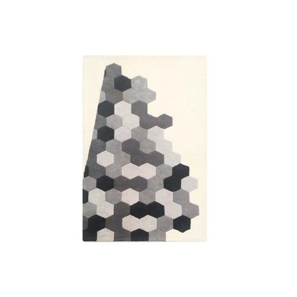 Dywan Delaware Grey Ivory, 153x244 cm