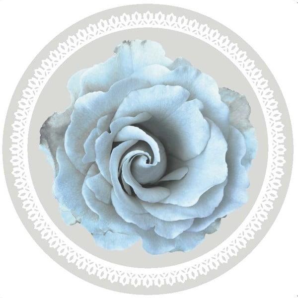 Zestaw 2 mat stołowych Blue Rose