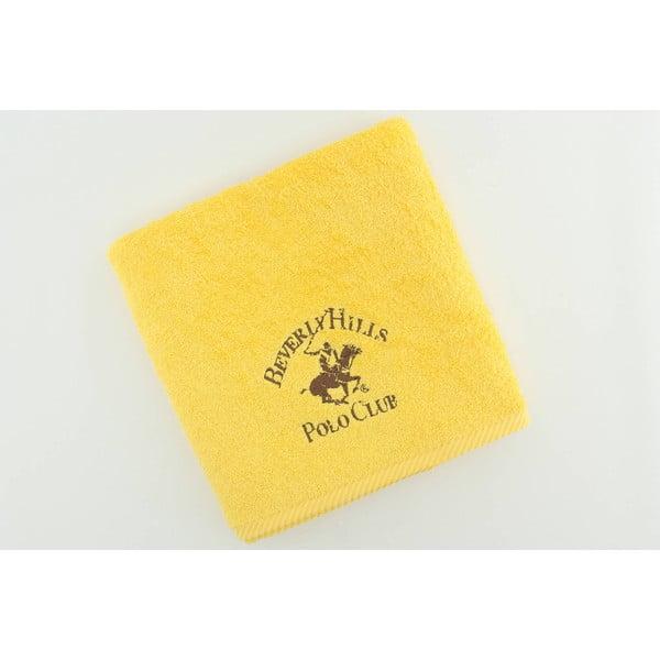 Ręcznik BHPC Yellow, 50x100 cm