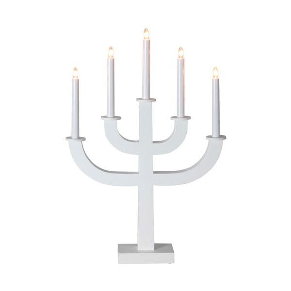 Biały świecznik LED Sala
