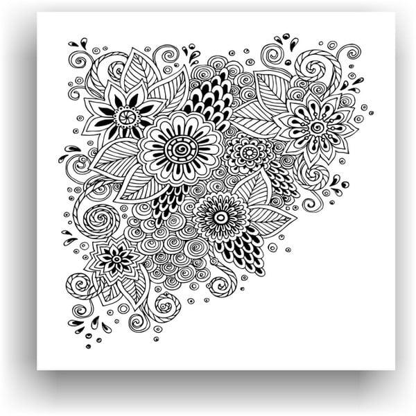 Obraz do kolorowania 64, 50x50 cm