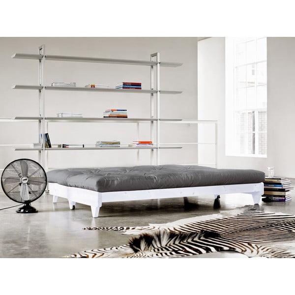 Sofa rozkładana Karup Fresh White/Gris
