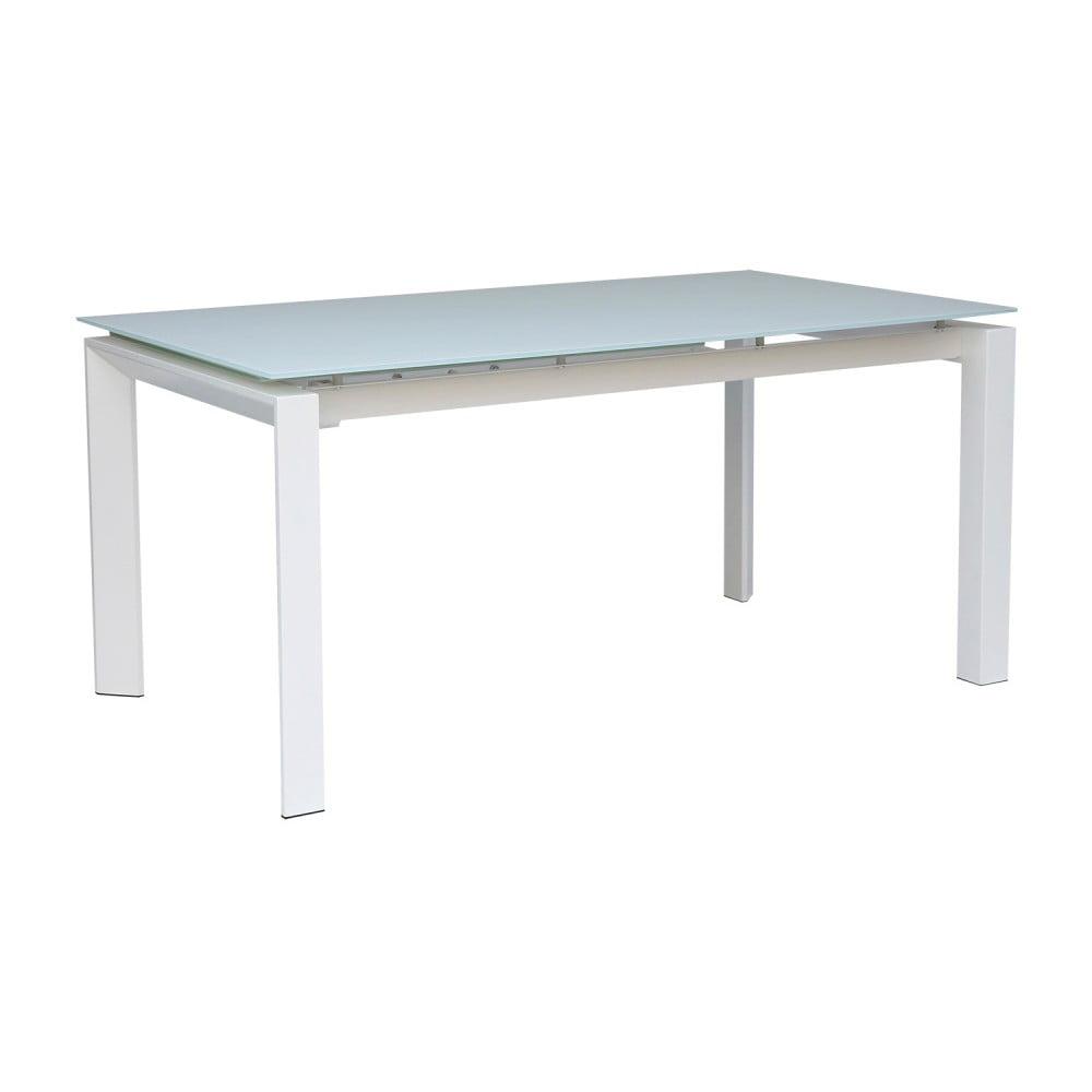 Biały stół rozkładany sømcasa Selena, 160 x 90 cm