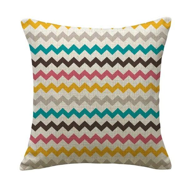 Poszewka na poduszkę Color Lines Zig, 45x45 cm