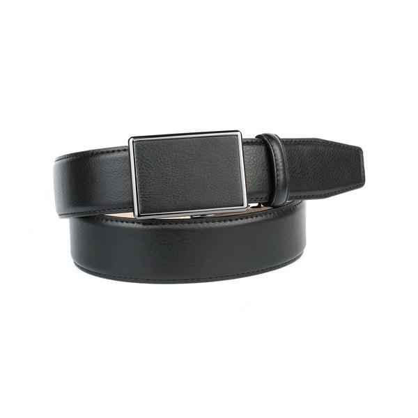 Pasek skórzany 39T10S Black, 120 cm
