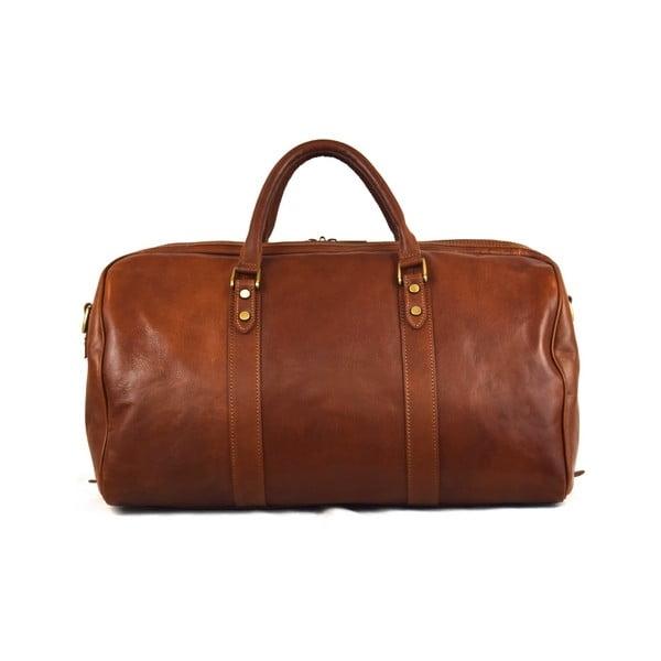 Skórzana torba Santo Croce 82979 Brown