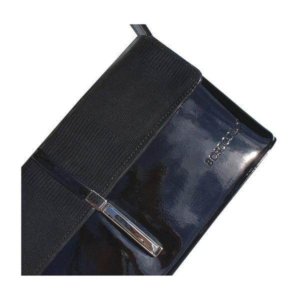Skórzana kopertówka Boscollo Black 2392
