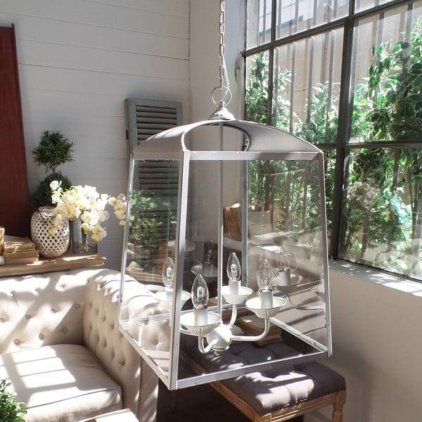 Lampa wisząca Orchidea Milano Antique, 4 światełka