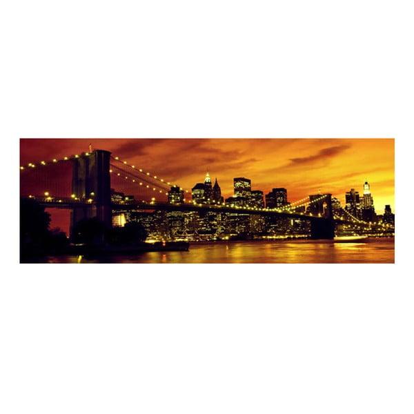 Obraz na szkle Nowy Jork, 30x90 cm