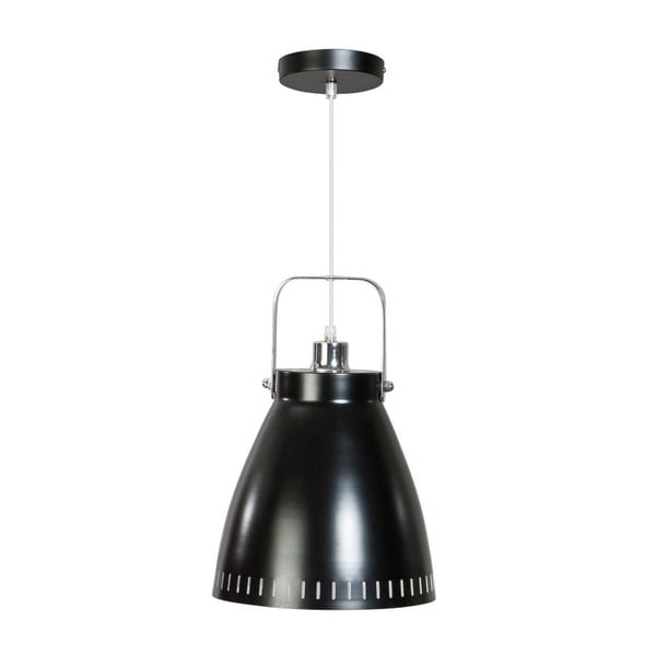 Czarna lampa wisząca ETH Acate Industri