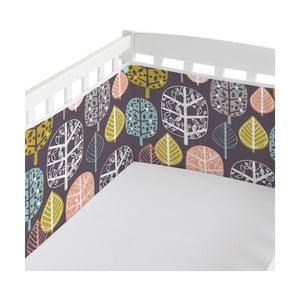 Ochraniacz do łóżeczka Woodland, 60x60x60 cm