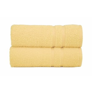 Ręcznik Sorema Basic Yellow, 50x100 cm