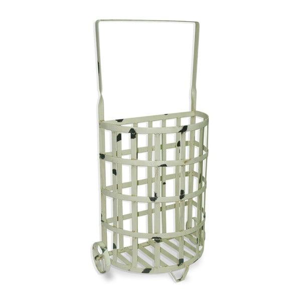 Koszyk Whitewashed Iron, 37x21x71 cm