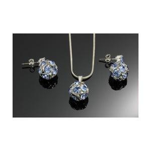 Zestaw Swarovski Elements Marble Saphire