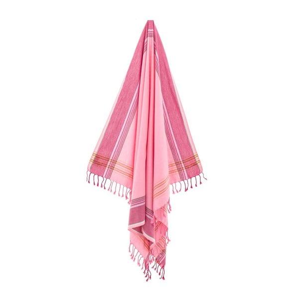 Ręcznik/pareo Zeki Pink, 100x178 cm