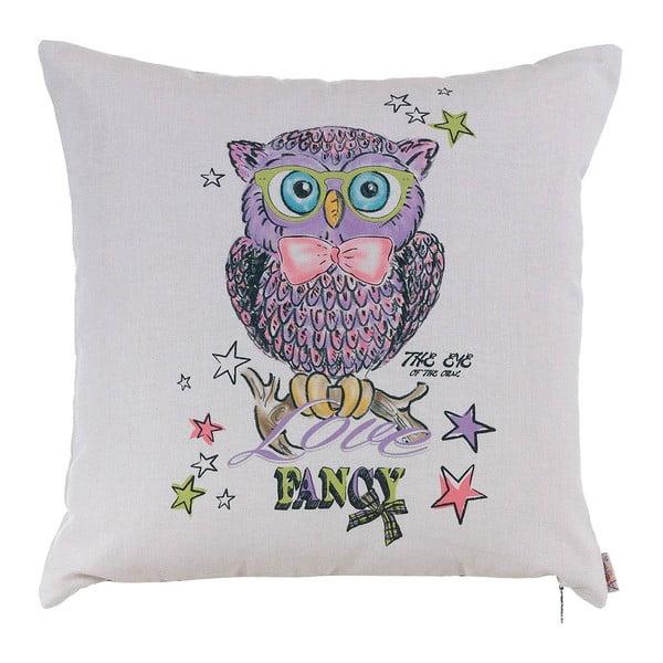 Poduszka z wypełnieniem Fancy Owl