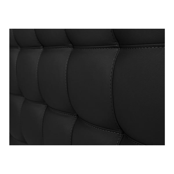 Czarny zagłówek łóżka Windsor & Co Sofas Deimos, 200x120 cm