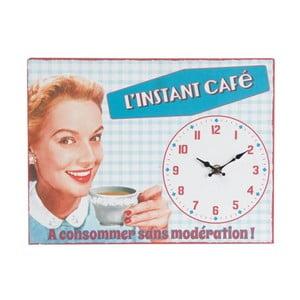 Zegar Instant Café, 32x24 cm