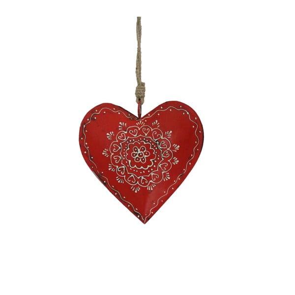 Dekoracja wisząca w kształcie serca Antic Line Decoration