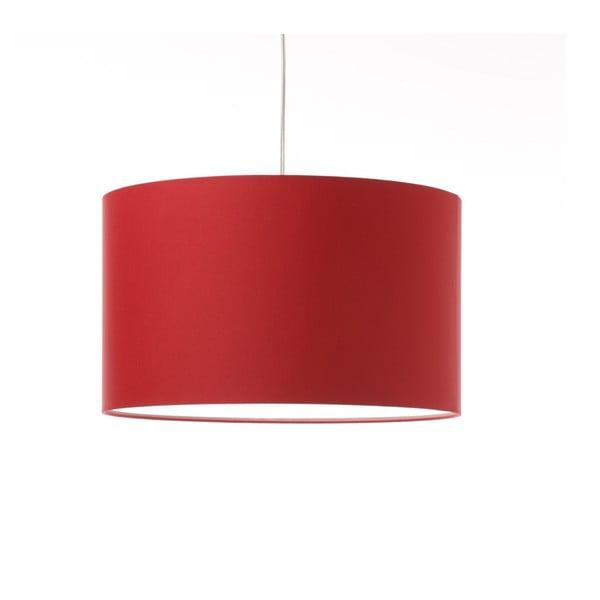 Czerwona lampa wisząca Artist, zmienna długość, Ø 42 cm