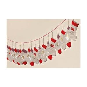 Kalendarz adwentowy Winter Socks, 260 cm