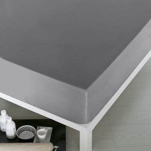 Prześcieradło Home Gray, 100x200 cm
