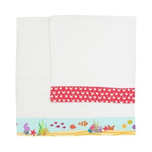 Komplet 2 ręczników Little W Under The Sea