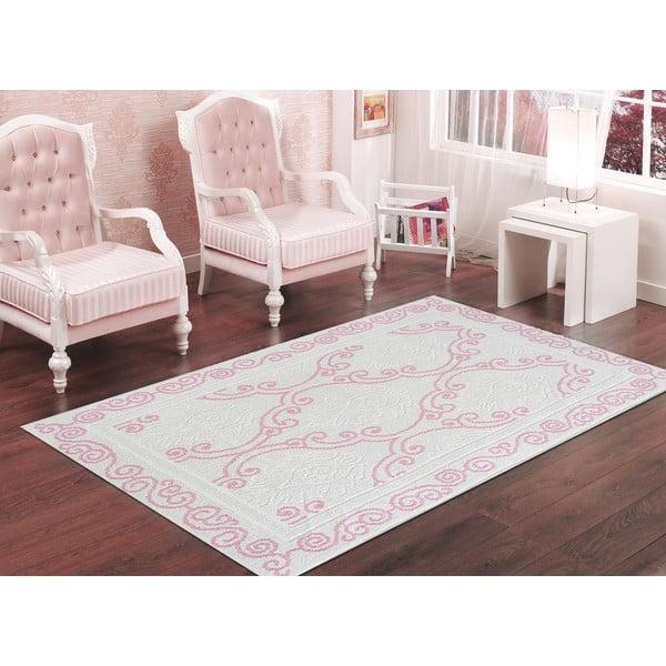 Pudrowy wytrzymały dywan Primrose, 120x180 cm