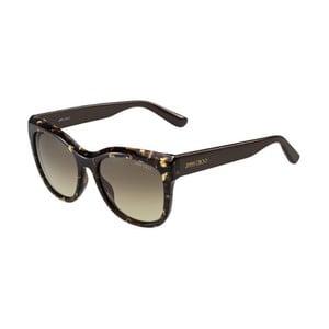Okulary przeciwsłoneczne Jimmy Choo Nuria Leopard/Brown
