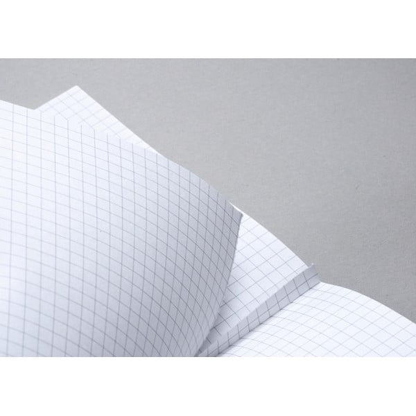 Notes FANTASTICPAPER A5 Black/Silver, w linie