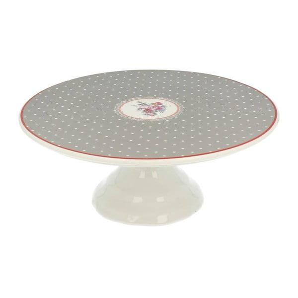 Patera na tort White Dots, 25 cm