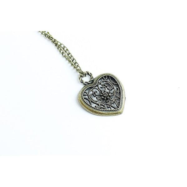 Naszyjnik Bronze Heart