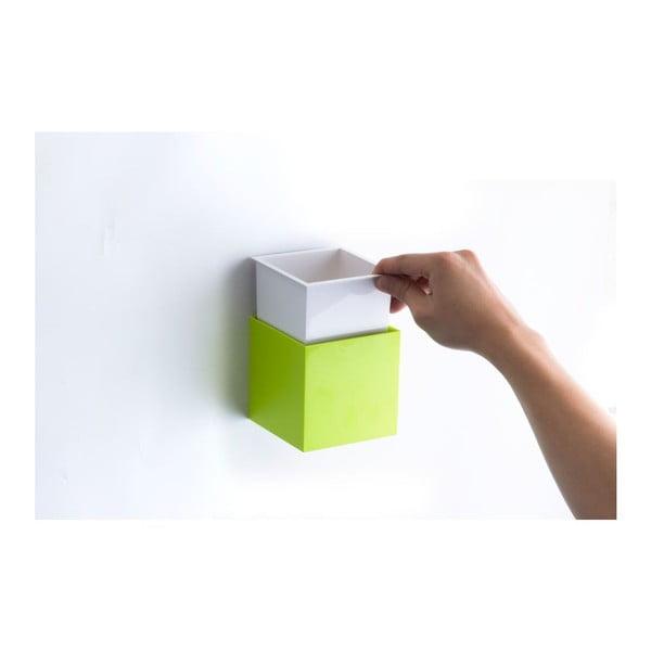 Pudełko naścienne Pixel Box, białe