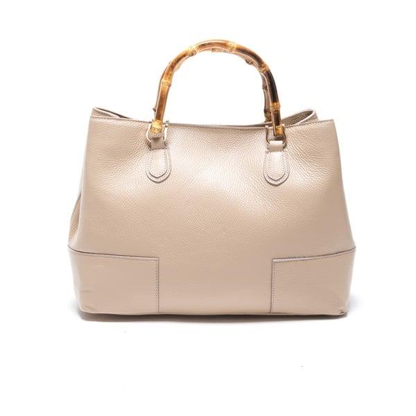 Skórzana torebka Roberta M. 1091 Fango
