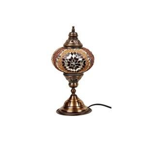 Szklana lampa stołowa Homemania Mosaic , ⌀17cm