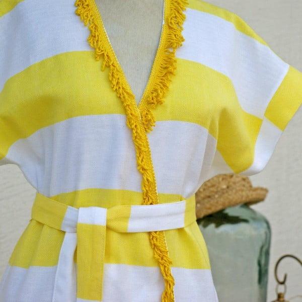 Sukienka plażowa/szlafrok Pesthemal Yellow