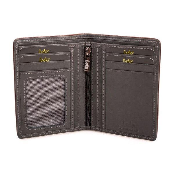 Skórzany portfel Lois Garments, 11x8 cm