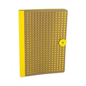 Żółty notes B5 Portico Designs Laser