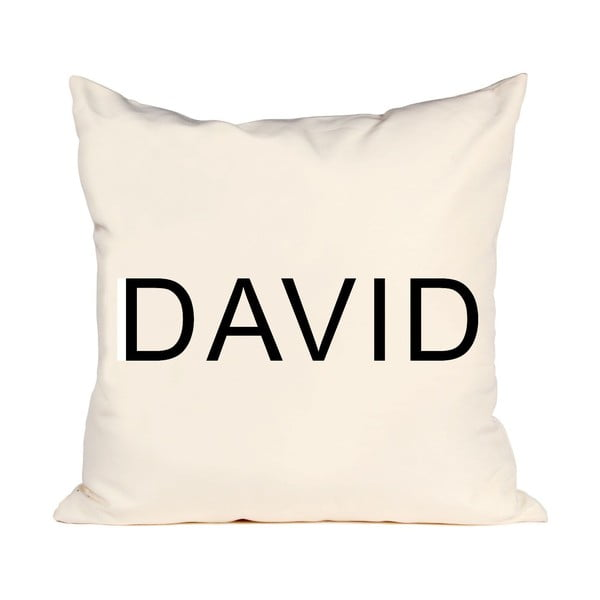 Poszewka na poduszkę David, 50x50 cm