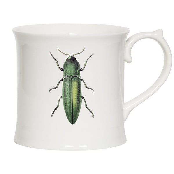 Kubek Curious Green Beetle