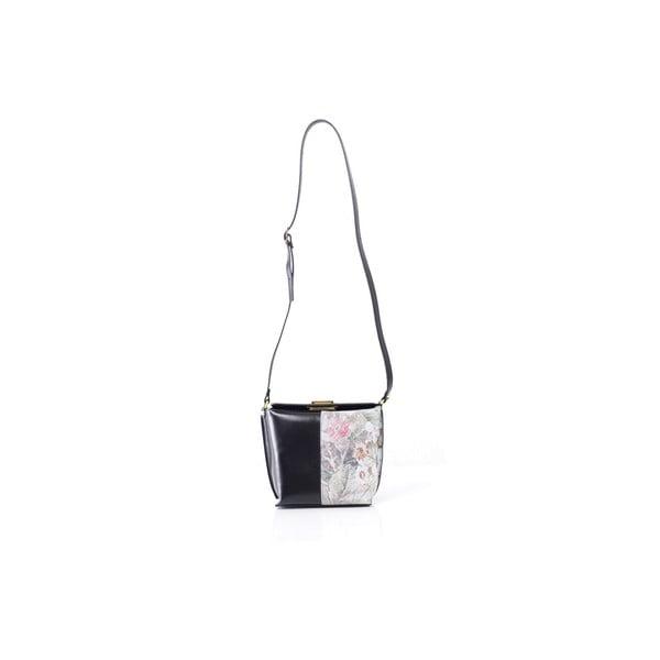 Skórzana torebka Tracy, czarna