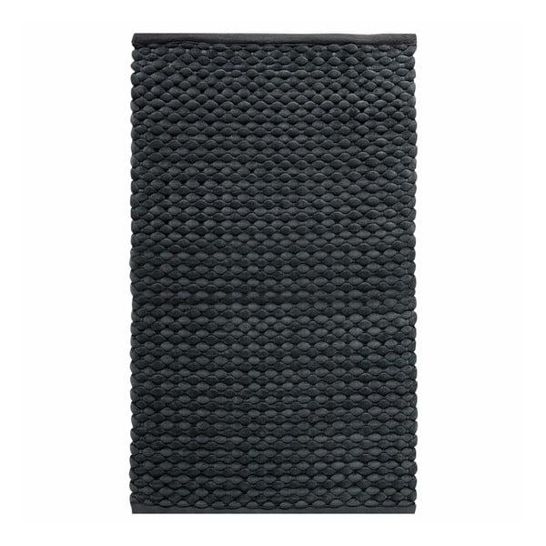 Szary dywanik łazienkowy Maks, 70x120 cm