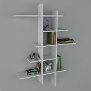 Półka Atlanta Book White, 22x90x150 cm