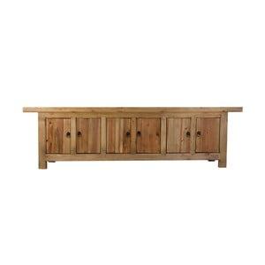 Komoda pod TV z drewna sosnowego z recyklingu VICAL HOME Ansun